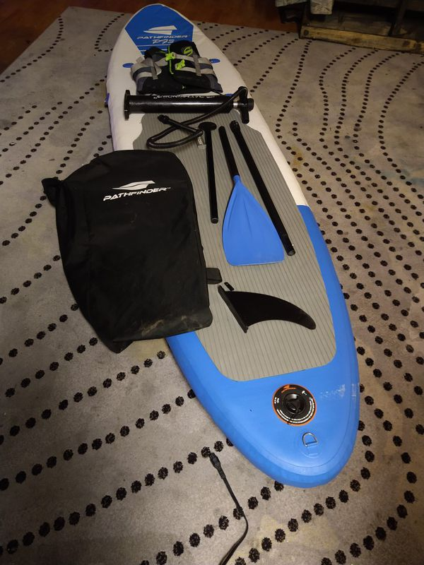 Pathfinder p73 inflatable surfboard