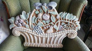 Cast wall Decorative piece for Sale in Harrisonburg, VA