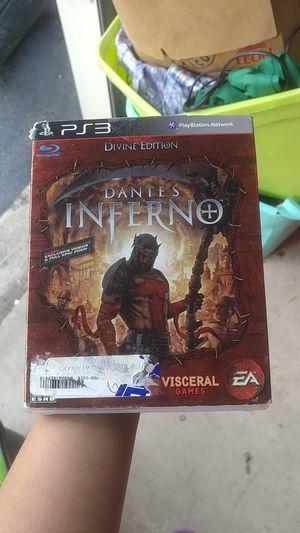 PS3 DANTE'S INFERNO for Sale in San Antonio, TX