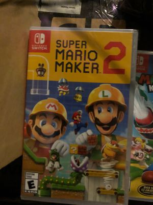 Nintendo switch Mario games any one all brand new seal for Sale in San Jose, CA