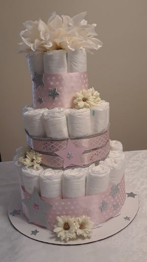 Diaper cake - Twinkle Twinkle Little Star for Sale in Sunrise, FL