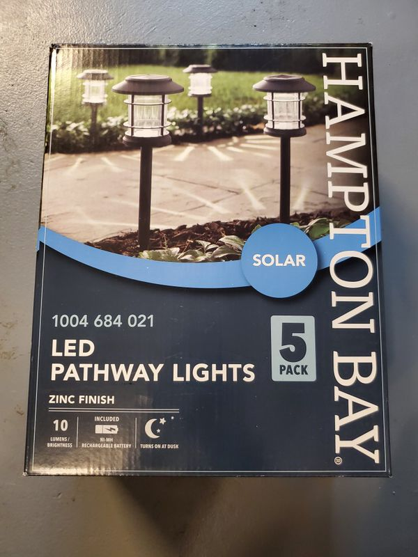 Outdoor LED solar lights