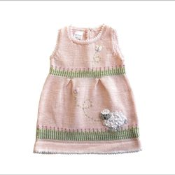 Melange Collection Knit Lamb Dress, Pink for Sale in Baltimore,  MD
