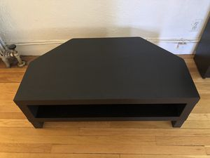 Black IKEA TV Stand for Sale in Brookline, MA
