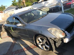 2006 Infiniti g35 6 speed (Part Out) for Sale in Pomona, CA