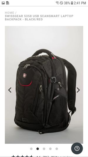 Brand new, never used Swiss Gear laptop backpack (Bad Ass) for Sale in Longview, TX