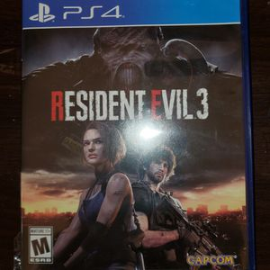 Resident EVIL 3 REMAKE PS4 for Sale in Baton Rouge, LA