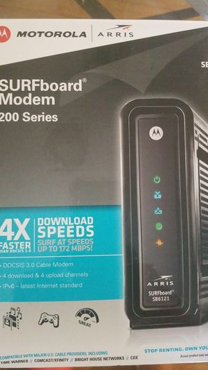 Motorola modem for Sale in Andover, MA