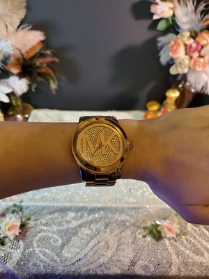 Michael Kors Oversized Runway wrist watch-Rose gold for Sale in Independence, OR