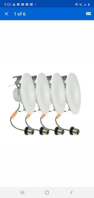 LED Recessed Downlights 4ct for Sale in New Haven, IN