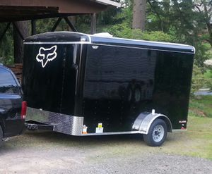 7x14 enclosed trailer for Sale in Oregon City, OR