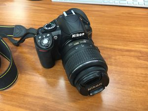 Nikon D3100 Digital Camera with Nikon DX 18-55 Lens and Strap for Sale in Shoreline, WA