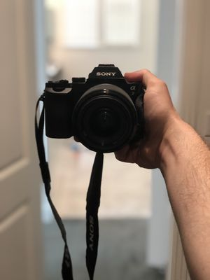 SONY A7 GREAT CONDITION, EXTERNAL WARRANTY for Sale in Dublin, CA