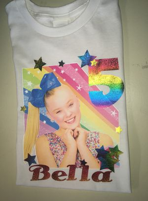 JoJo Siwa Birthday T Shirts For Sale In Houston TX