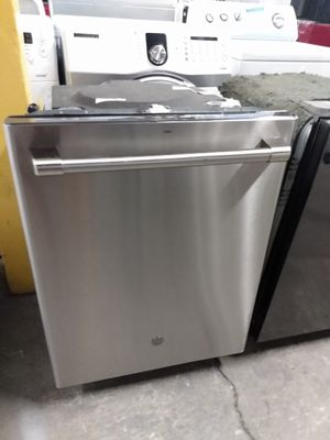 GE stainless steel dishwasher working perfectly 4 months warranty for Sale in Baltimore, MD