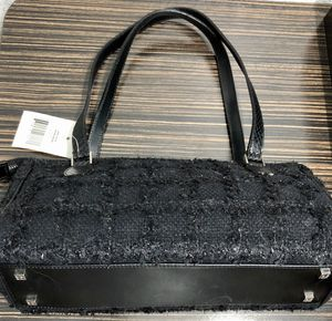 Authentic Kate Spade Small Black Tweed Purse for Sale in Lewisville, TX