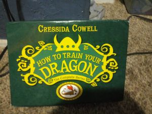"""Complete series: """"how to train your dragon"""" 12 books for Sale in Salt Lake City, UT"""
