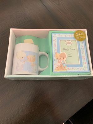 Precious moments mug and photo frame. for Sale in City of Industry, CA