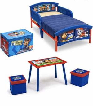 Brand new paw patrol Toddler bed set for Sale in High Point, NC