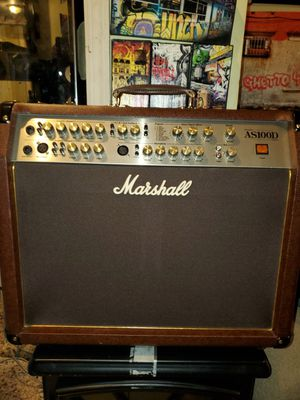 Marshal as100d amplifier guitar amp for Sale in Union City, NJ