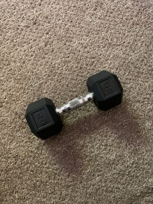 20 lb dumbbell for Sale in Gilroy, CA
