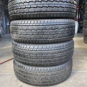4 Used Tires 255/70r17 General 90% Tread for Sale in Escondido, CA