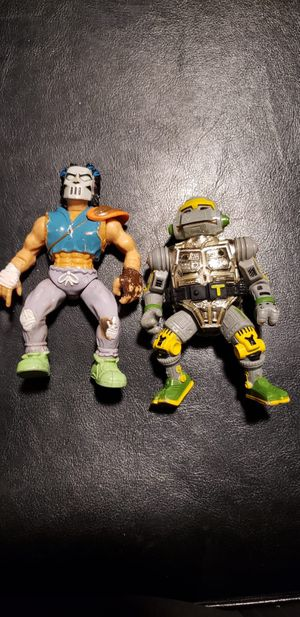 1989 TMNT Metalhead & Casey Jones for Sale in Dallas, TX