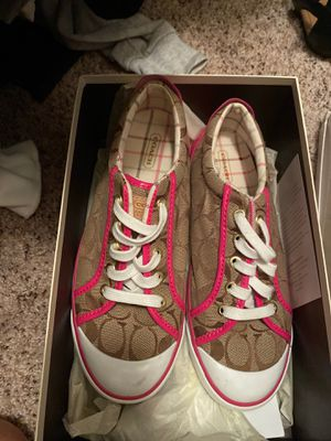 Coach shoes size 8.5 for Sale in Olympia, WA