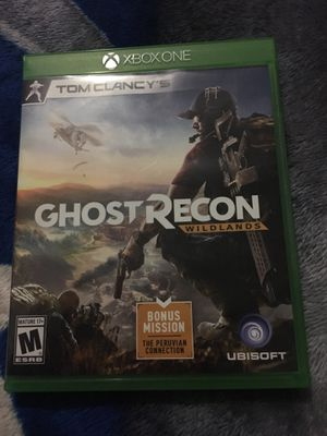 Ghost recon wild lands for Xbox one for Sale in Washington, DC