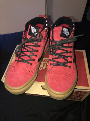 High top vans (red) for Sale in Whittier, CA