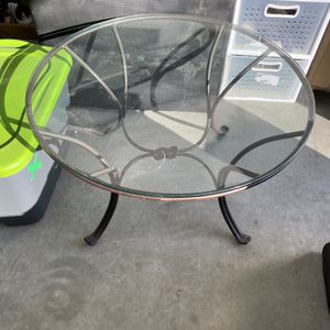 Glass Top Coffee Table for Sale in Visalia, CA