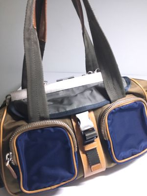 Prada nylon/leather sporty bag - authentic for Sale in San Diego, CA