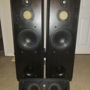 Vintage Infinity Kappa 7.1 floor stand speakers for Sale in Atlanta, GA