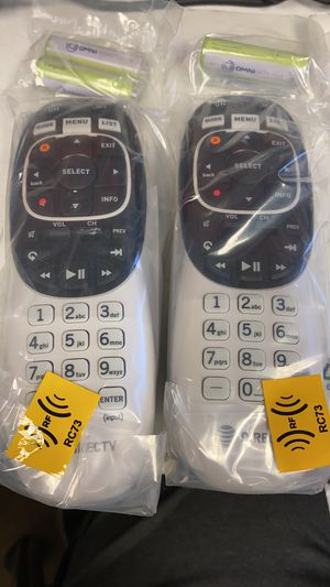 Directv remotes rc73 compatible with all new receivers for Sale in Houston, TX