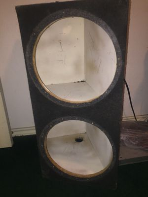 speaker box 12s for Sale in Dallas, TX