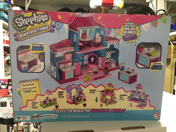 🔹Shopkins Kinstructions $30 Firm on price.