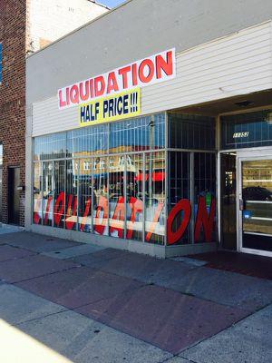 Grand Opening Liquidation 11352 Joseph Campau Hamtramck Mi 48212 Half price and more!!! for Sale in Detroit, MI