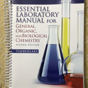 Essential Lab manual for organic and biochemistry for Sale in Anaheim, CA