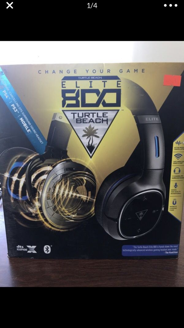 Turtle Beach Elite 800 PS4 Wireless Headset