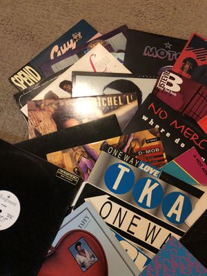 "80's Vinyl 12"" Extended Records for Sale in Montclair, CA"