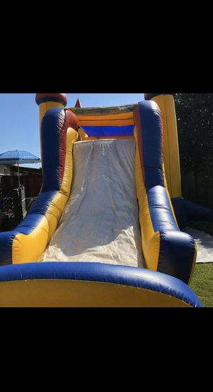 JUMPHOUSES / JUMPHOUSE WITH WATER SLIDE / JUMPHOUSE WITH SLIDE ONLY FOR SALE for Sale in Manteca, CA