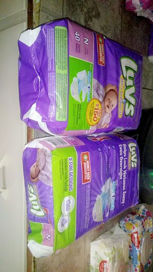 Luvs Diapers for Sale in Columbia, TN