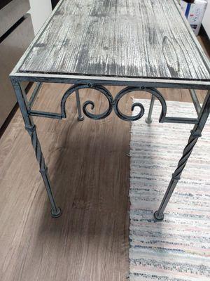 Metal/Wood End Tables for Sale in Phoenix, AZ