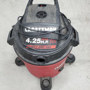 Craftsman Wet Dry Vac - Machine Works Well - No Hose Included for Sale in Goodyear, AZ