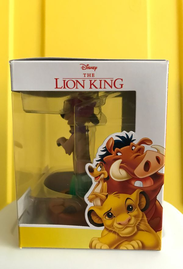 DISNEY Funko Lion King Bobble head and Keychain