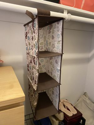 Foldable hanging closet organizer for Sale in Irvine, CA