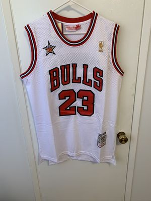 Michael Jordan #23 white Chicago bulls all star game jersey for Sale in Los Angeles, CA