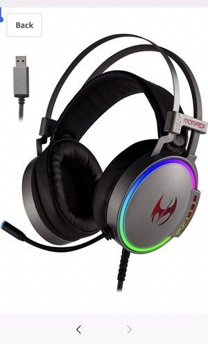 Usb gaming headset (silver) for Sale in White Marsh, MD