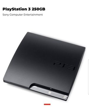 PS3 250GB with controller for Sale in Henderson, NV