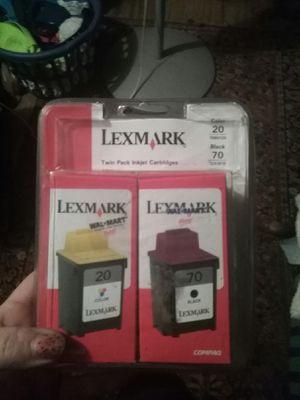 Lexmark™ 70/20 Black/Color Ink Cartridges 12A1970/15M0120, Pack Of 2 for Sale in Nicholasville, KY